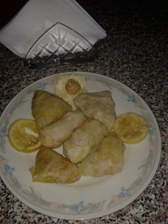 stuffed cabbage leaves dish