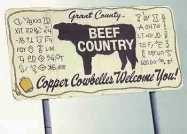 Copper Cowbelles Brand Board.....