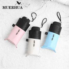 MUERHUA Anti-UV Pocket Mini Umbrella Rain Women Windproof Durable 5 Folding Sun Umbrellas Portable Sunscreen Female Parasol  Price: $ 26.99 & FREE Shipping   #rc #security #toys #bargain #coolstuff #headphones #bluetooth #gifts #xmas #happybirthday #fun
