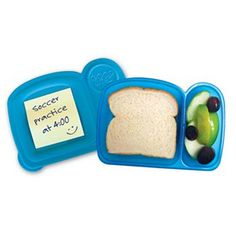 Mom Invented Good Bites Sandwich Box - Blue
