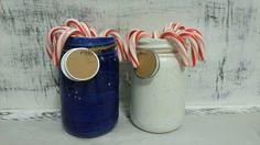 Mason Jars Handmade Ceramic from my by CreativityHappens on Etsy