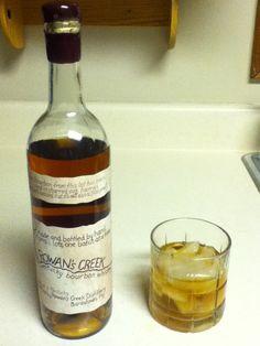 Rowan's Creek Straight Kentucky Bourbon Whiskey. Surprisingly smooth. I like it.