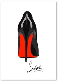 chaussure louboutin de luxe
