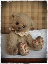 *TINA* - süßer handgenähter Künstlerteddy im Vintage-Stil von Tines Teddys