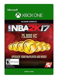 NBA 2K17 75000 VC  Xbox One Digital Code * You can get more details by clicking on the image.