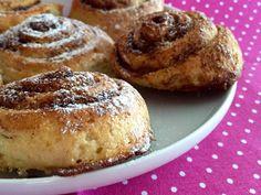 Fahéjas csiga glutén-és laktózmentesen | infoBlog | infoRábaköz | Friss hírek, helyi hírek, országos hírek, sport hírek, bulvár hírek Sin Gluten, Gluten Free, Naan, French Toast, Muffin, Paleo, Food And Drink, Diet, Baking