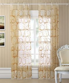 2-pack: abby rod pocket curtain panels | nomorerack i love