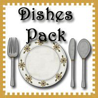 Free Dishes Pack from 3 Dinosaurs