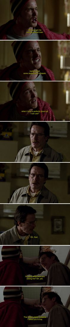 "When Walt had arguably the greatest (and messiest) ""I told you so"" moment of all time. 28 Times ""Breaking Bad"" Was Really Fucking Funny Breaking Bad Funny, Breaking Bad Tv Series, Breking Bad, Bad Quotes, Movie Quotes, Watch Star Trek, Ross And Rachel, Walter White, I Am The One"