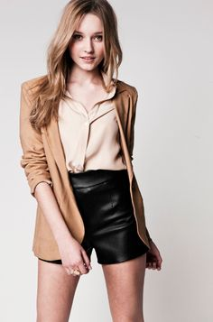 Lauren Conrad: 10 Styling Tips for Her New Collection! 1. Add Some Leather