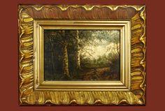 19th Century, Painting, The Originals, Antiques, Frame, Home Decor, Originals, Antiquities, Picture Frame