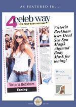 Victoria Beckham uses Spa Magik's Algimud Body Mask for toning !