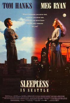 50 Greatest Chick Flicks of All Time - Sleepless in Seattle * Meg Ryan, Tom Hanks, Rita Wilson, Rosie O' Donnell, Victor Garben and Bill Pullman