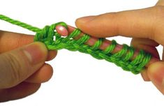 How to crochet: Tunisian simple stitch (a tutorial)