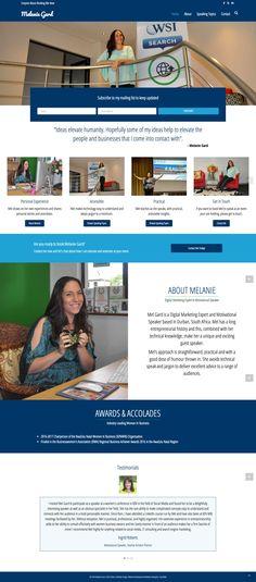 Melanie Gard - Speaker Website   Website Design & Development by 1 Day Webs (http://www.1daywebs.com)