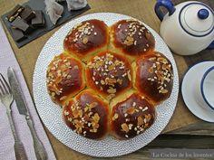 La Cocina de los inventos: Brioche de Aceite de Oliva Pepperoni, Waffles, Pizza, Bread, Breakfast, Food, Sweet Recipes, Desserts, Cooking