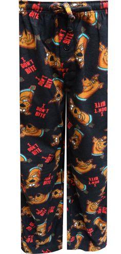 WebUndies.com Scooby-Doo I Don't Bite Fleece Lounge Pants