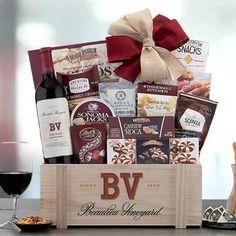 Wine Gift Baskets - Executive Selection Wine Gift Basket