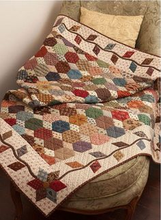 English Paper Piecing by Martingale | That Patchwork Place, via Flickr