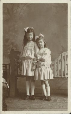 My mother on the left, Jo on the right. They are wearing dresses made for them by their mother Irene, who died of TB aged just 31. The sisters lost her, their father 18 months later, and then each other, as they were sent to live with relatives in different parts of the country.
