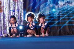Baby cheerleaders