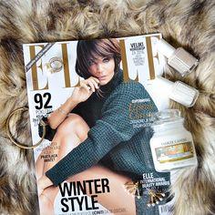 Winter style. #flatlay #ElleSerbia #YankeeCandle @sabinabotica Instagram photo
