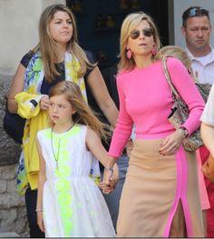 Reines & Princesses: Le dressing de Maxima