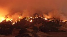 Cal Fire crews battle fast-moving Wragg Fire. July 22 2015