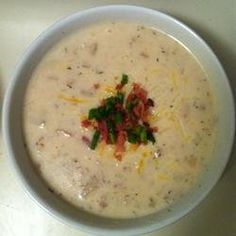 Nikki's Creamy Crock Pot Potato Soup — Punchfork