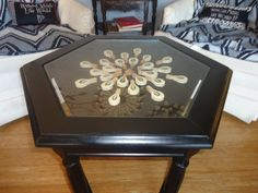 Repurposed Piano Hammer Table by ThePianoGalShop on Etsy Upcycled Piano http://thepianogalshop.com