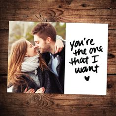The One That I Want | Valentine's Day Collection #InkCards