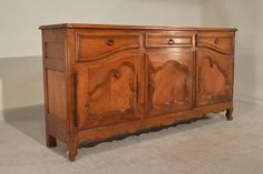19th Century Country French Cherry Enfilade | From a unique collection of…