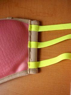 diy 3 strap bra | what i do - how to, on a strapless bra.