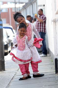 Loving the cuties in Shalwar Kameez outfit.