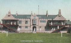 Hartlepool's Hospital - also known as St. Hilda's - was a wonderful old building. Sadly it is longer longer standing having been demolished many years ago. The old Friarage Manor House, which was part of the inside of the hospital and built in 1605, still stands on the Friarage Field and is a Grade II listed building