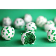 St. Patrick's Day Cake Balls