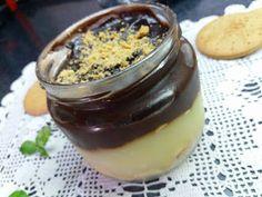 Προφιτερόλ νηστίσιμο Pudding, Desserts, Food, Tailgate Desserts, Deserts, Puddings, Meals, Dessert, Yemek