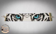Next animal bead loom bracelet :-D 🐯🐯 beadloombracelet krosno tiger animal tygrys bransoletka bransoletkanakrosnie… Loom Bracelet Patterns, Seed Bead Patterns, Bead Loom Bracelets, Jewelry Patterns, Beading Patterns, Beading Ideas, Beading Supplies, Loom Animals, Beaded Animals
