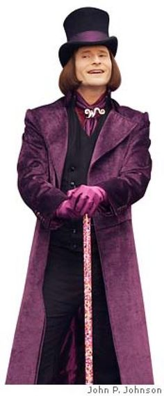 willy wonka purple - Google-haku