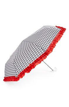 Scottie Dog Ruffle Umbrella