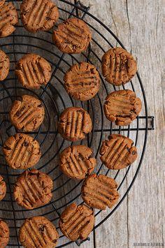 Bocadinhos de Açúcar: Biscoitos de manteiga de amendoim e chocolate