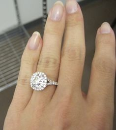 swoon....  Engagement Rings Direct antique cushion diamond  Victor Canera setting