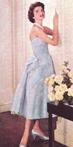 http://en.wikipedia.org/wiki/Jacqueline_Kennedy_Onassis  Great ...So Beauty ....Wonderful .............
