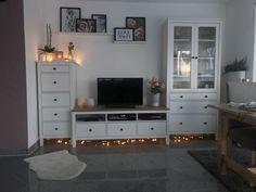 Ikea living room hemnes - ikea wohnzimmer he Living Room Accents, Living Room Tv, Ikea Hemnes Living Room, Family Room Decorating, Living Room Furniture, Bedroom Decor, House Design, Interior Design, Decoration