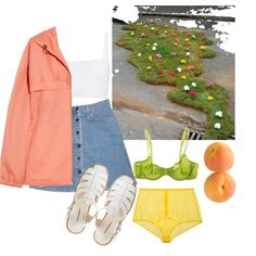 """""""keep it peachy"""" by sadnpoor on Polyvore"""