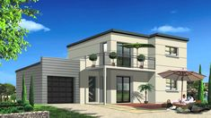 Awesome Plan Maison Tunisie that you must know, You?re in good company if you?re looking for Plan Maison Tunisie Narrow Lot House Plans, Small House Floor Plans, Modern House Plans, Front Elevation Designs, House Elevation, Master Bedroom Set, Australia House, Best Home Interior Design, Modern Entrance