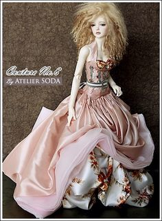 Not a FR, a BJD wearing an Atelier Soda, too, too gorgeous not to imagine one of the FRs in it.