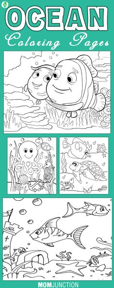 10 Best Ocean Coloring Pages For Your Little Ones