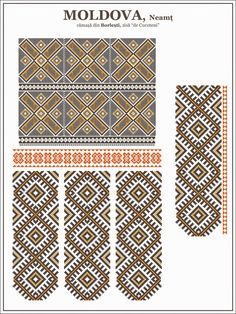 Folk Embroidery Tutorial Semne cusute: ie de Cucuteni Hungarian Embroidery, Learn Embroidery, Crewel Embroidery, Embroidery For Beginners, Embroidery Patterns, Machine Embroidery, Cross Stitch Borders, Cross Stitch Patterns, Mochila Crochet