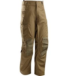Talos Pant Men's A hot climate combat pant made of light, breathable, nylon/cotton jersey fabric, reinforced with heavy duty webbing knees.